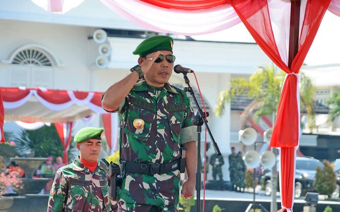Bupati Pimpin Upacara HUT TNI di KSB